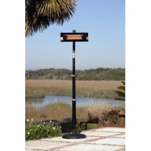 "93"" 1500W Telescoping Offset Pole Mounted Infrared Patio Heater"