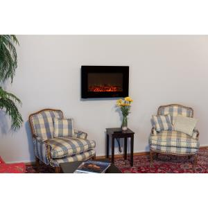 1400 Watt Wall Mounted Electric Fireplace