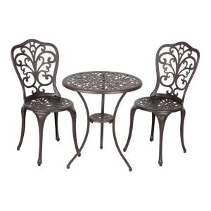 "Faustina - 26.7"" 3pc Bistro Set"