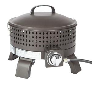 """Sporty Campfire - 19"""" Portable Gas Fire Pit"""
