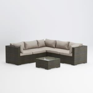 "Sino - 29"" Wicker Sofa Set"
