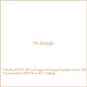 24inch Fall Harvest Wreath Door Hanging with Corn Husks, Pumpkins and Pine Cones