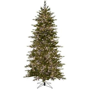 Aurora - 90 Inch Christmas Tree with Warm White Cluster Rice LED Lights