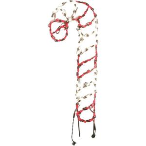 "36"" Christmas Giant Outdoor LED Lights with Tall Candy Cane and Ground Stakes"