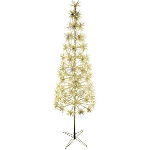 60 Inch Metal Framed Decorative Christmas Tree with Metal Base with Twinkle Lights