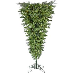 Canyon Pine - 5' Upside Down Christmas Tree with Smart String Lighting