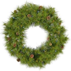 "Eastern Pine - 36"" Artificial Holiday Wreath"