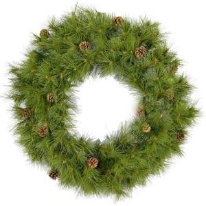"Eastern Pine - 48"" Artificial Holiday Wreath"