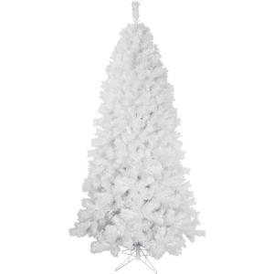78 Inch Frosted Valley Christmas Tree with Metal Stand
