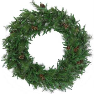 "Norway Pine - 48"" Artificial Holiday Wreath"