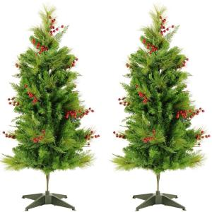Newberry Pine - 4' Artificial Trees (Set of 2)