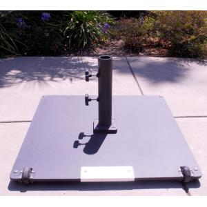 Steel Plate - 95 lb. Square Base