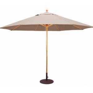 11' Round Shade with Quad Pulley