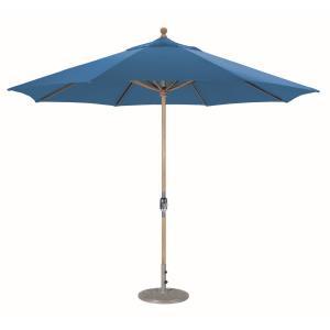 Classic - 11' Round Teak Umbrella