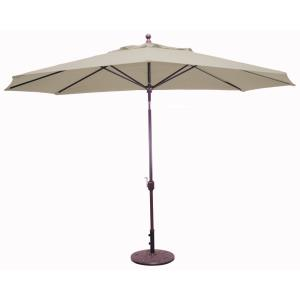 Deluxe Auto Tilt - 8' x 11' Oval Umbrella