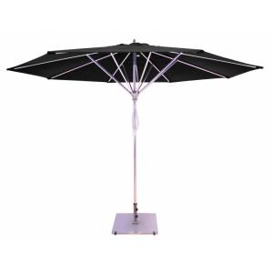 11' Deluxe Pulley Lift Commercial Round Umbrella