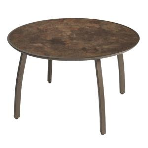 42 in Round Sunset Table