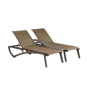 Sunset Duo Chaise Lounge + Console