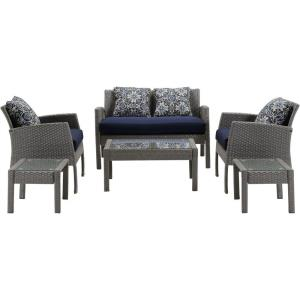 "Chelsea - 44.5"" 6-Piece Seating Set"