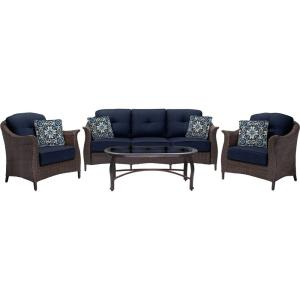 "Gramercy - 80"" 4-Piece Seating Set"