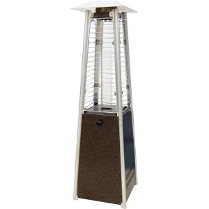 34 Inch Mini Pyramid Portable Table Top Patio Heater with Square Base