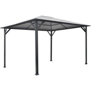 13'x10' Hardtop Gazebo with Polycarbonate Roof Panels