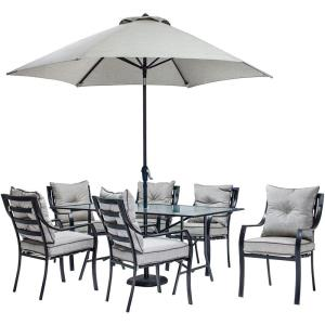 "Lavallette - 66"" 7-Piece Dining Set"