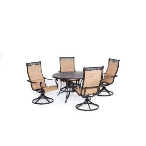 Manor - 48 Inch 5-Piece Dining Set