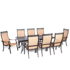 "Manor - 84"" 9-Piece Dining Set"