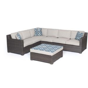 "Metropolitan - 51.38"" 5-Piece Deep Seating Set"