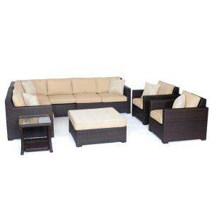 "Metropolitan - 51.38"" 8-Piece Lounge Set"