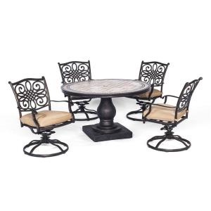 "Monaco - 51"" 5-Piece Dining Set"