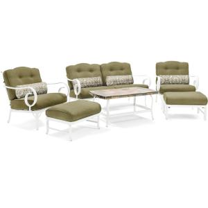 "Oceana - 40"" 6 Piece Patio Seating Set"