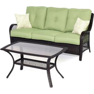 """Orleans - 74.8"""" 2-Piece Patio Seating Set"""