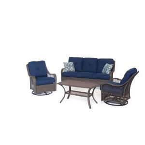 Orleans - 74.8 Inch 4-Piece Seating Set