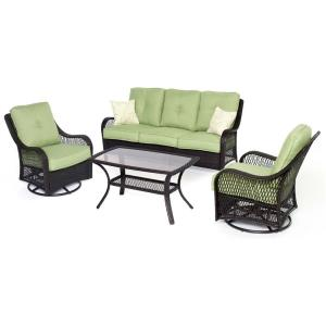 """Orleans - 74.8"""" 4-Piece Seating Set"""