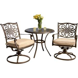 "Traditions - 32"" 3-Piece Bistro Set"