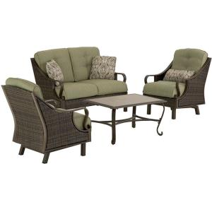 "Ventura - 49"" 4-Piece Patio Set with Table Set"