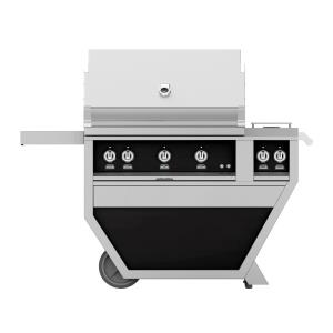Deluxe Grill with Cart