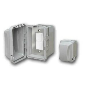 Accessory - Single Duplex Switch Surface Mount  and  Gang Box 20 Amp Per Pole