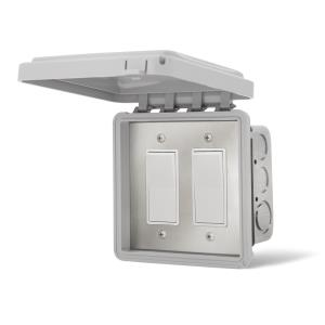 ON/OFF Switches In Wall Cover