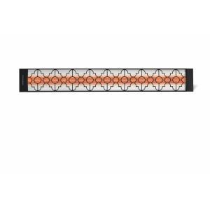 Dual Element - 4,000 Watt Electric Patio Heater - Motif Collection