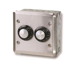 Accessory - 120 Volt Dual Reg With Wall Plate  and  Gang Box
