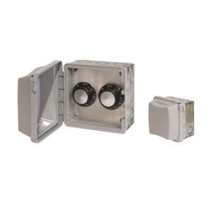 Accessory - 120 Volt Dual Reg With Flush Mount  and  Gang Box
