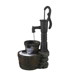 "29"" Old Fashion Water Pump Water Fountain"