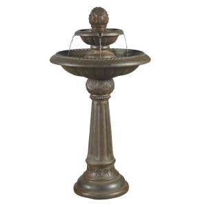 "41"" Ananas Pineapple Tier Outdoor Fountain"