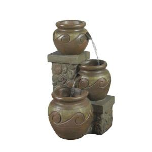 "25"" Venice Multi Pot Outdoor/Indoor Fountain"