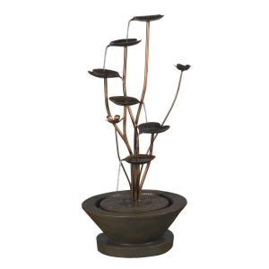 "38"" Acqua Di Loto Lotus Outdoor Fountain"