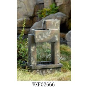 "27.6"" Indoor/Outdoot Water Fountain"