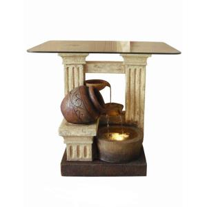 "27.5"" Pots Table Water Fountain"